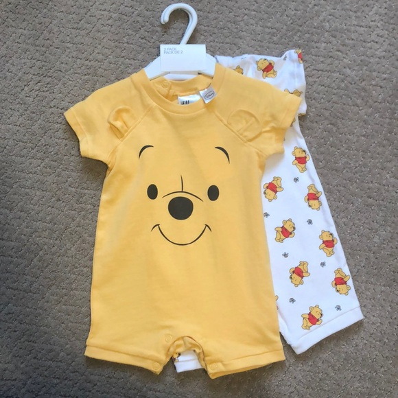 Disney Baby Winnie the Pooh Romper Jersey 3-6mths Toddler Babies Costume Outfit